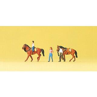 """Preiser 79183 - Figurensatz 1:160 """"Hobbyreiter"""""""