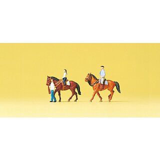 """Preiser 79184 - Figurensatz 1:160 """"Hobbyreiter"""""""