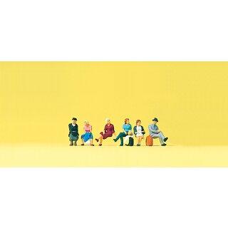 """Preiser 79189 - Figurensatz 1:160 """"Sitzende Reisende"""""""
