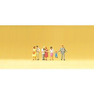 """Preiser 79190 - Figurensatz 1:160 """"Gehende Paare"""""""