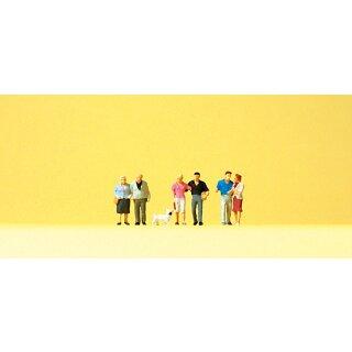 """Preiser 79209 - Figurensatz 1:160 """"Paare, Hund"""""""