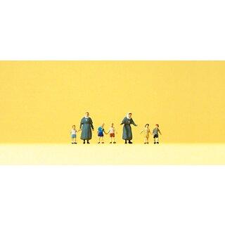 "Preiser 79211 - Figurensatz 1:160 ""Diakonisse mit Kindern"""