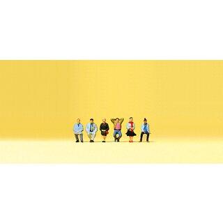 """Preiser 79213 - Figurensatz 1:160 """"Sitzende Reisende"""""""