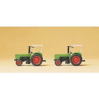 """Preiser 79506 - Gespanne/Traktoren 1:160 """"Ackerschlepper Deutz D 6206."""""""