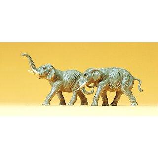 """Preiser 79710 - Figurensatz Zirkus 1:160 """"Elefanten"""""""