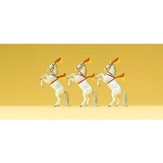 """Preiser 79712 - Figurensatz Zirkus 1:160 """"Dressurpferde"""""""