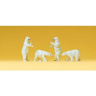 "Preiser 79716 - Figurensatz Zirkus 1:160 ""Eisbären"""