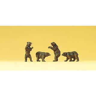 "Preiser 79717 - Figurensatz Zirkus 1:160 ""Braunbären"""