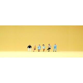 """Preiser 80906 - Figurensatz 1:200 """"Sitzende Personen"""""""