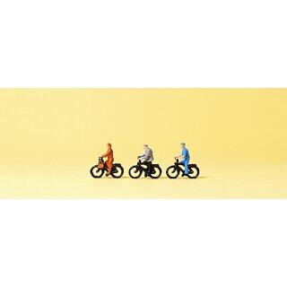 """Preiser 80911 - Figurensatz 1:200 """"Radfahrer"""""""
