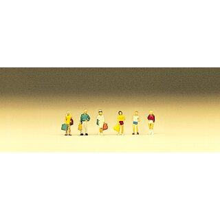 """Preiser 88522 - Figurensatz 1:220 """"Reisende, Teenager"""""""