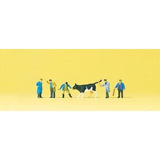 "Preiser 88544 - Figurensatz 1:220 ""Viehhandel"""