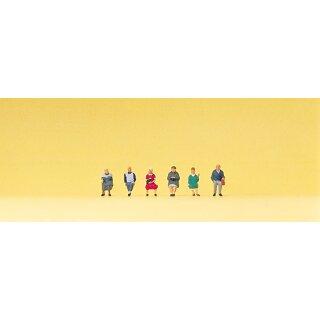 """Preiser 88553 - Figurensatz 1:220 """"Sitzende Reisende"""""""