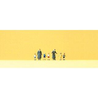 "Preiser 88556 - Figurensatz 1:220 ""Diakonisse mit Kindern"""