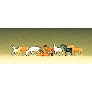 "Preiser 88578 - Figurensatz 1:220 ""Pferde"""