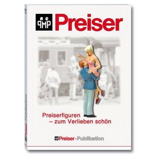 """Preiser 96001 - Preiser Prospekt """"Preiserfiguren - zum Verlieb"""""""
