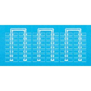 Preiser 97000 - Sockel, glasklar. 10 x 7 mm.