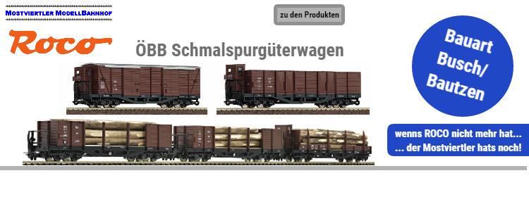 ÖBB Güterwagen Bauart Busch/Bautzen