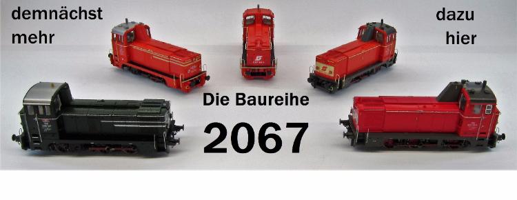 Die ÖBB Baureihe 2067
