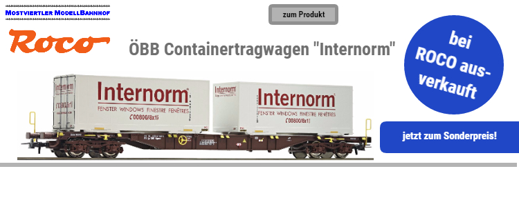 "ÖBB Containertragwagen ""Internorm"""