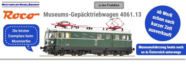 ÖBB Gepäck-Triebwagen 4061.13 des Club1018