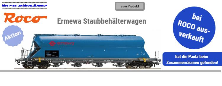 Ermewa Staubbehäterwagen