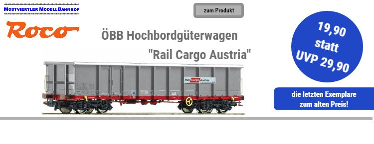 ROCO ÖBB Hochbordgüterwagen