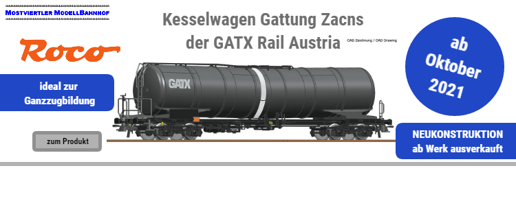 GATX Rail Austria Kesselwagen Zacns