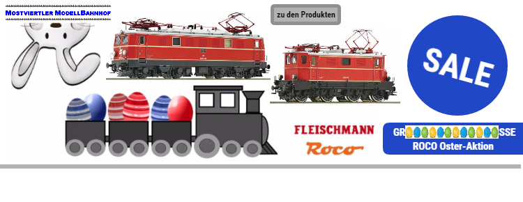 Grooooße ROCO Oster-Aktion