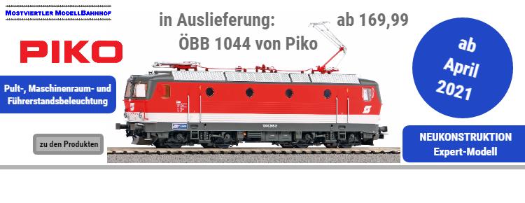 Die ÖBB Elektrolok 1044