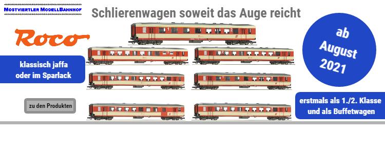 Die ÖBB Schlierenwagen - überarbeitet